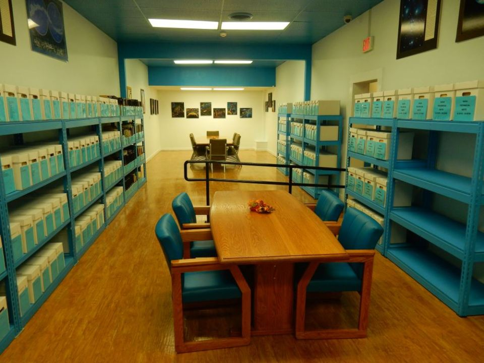 The periodicals room is quite nice, lots of FOIA papers, journals, and NASA documents.