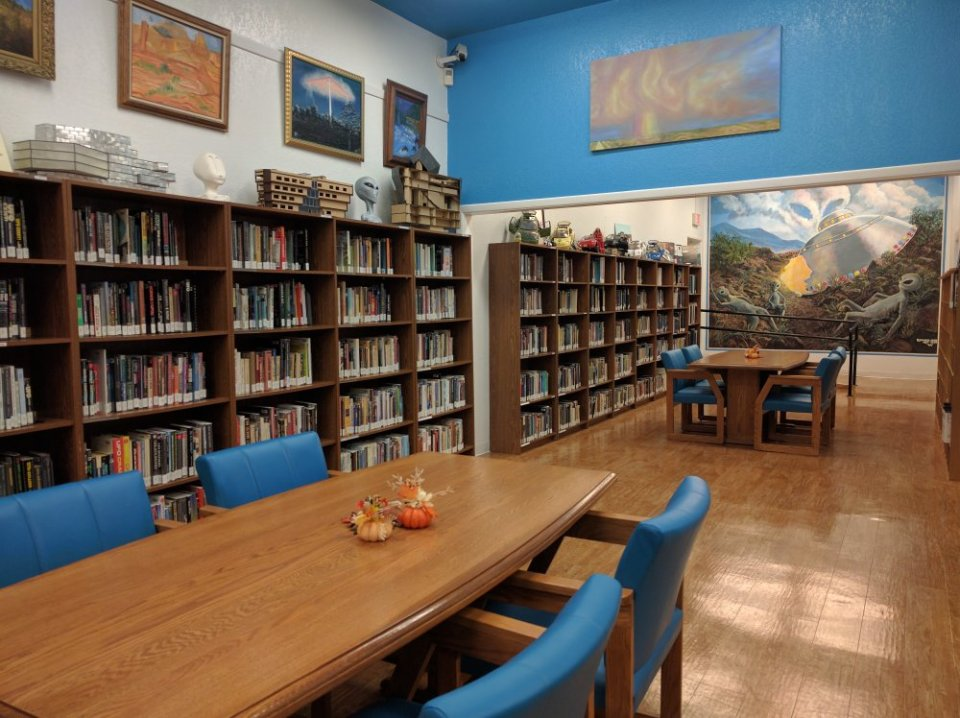 Don't forget to visit the Roswell UFO Library