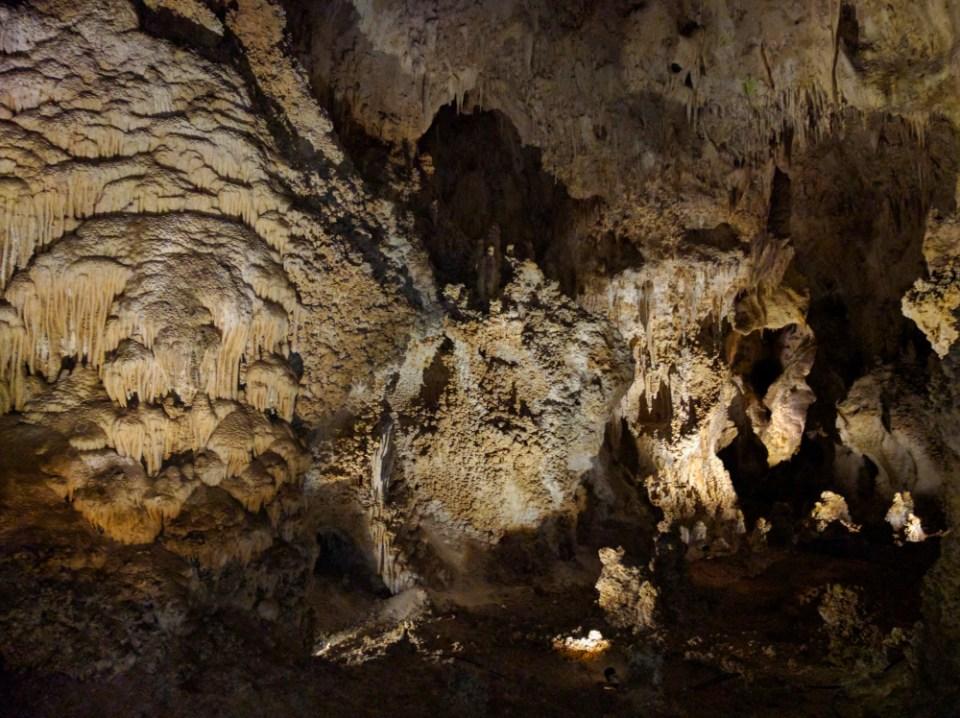Carlsbad Caverns Popcorn Formations