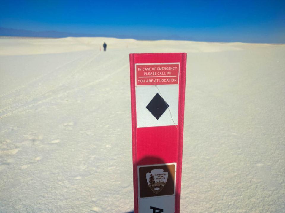 Follow the Trail Marker