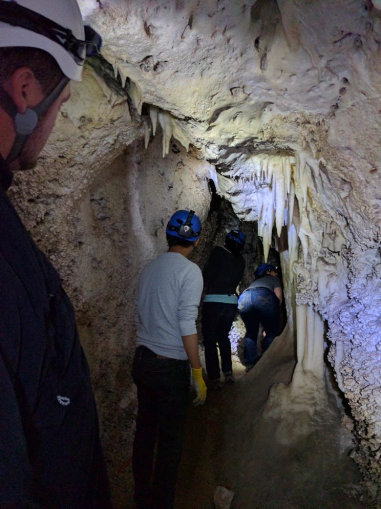 Cave Crawling