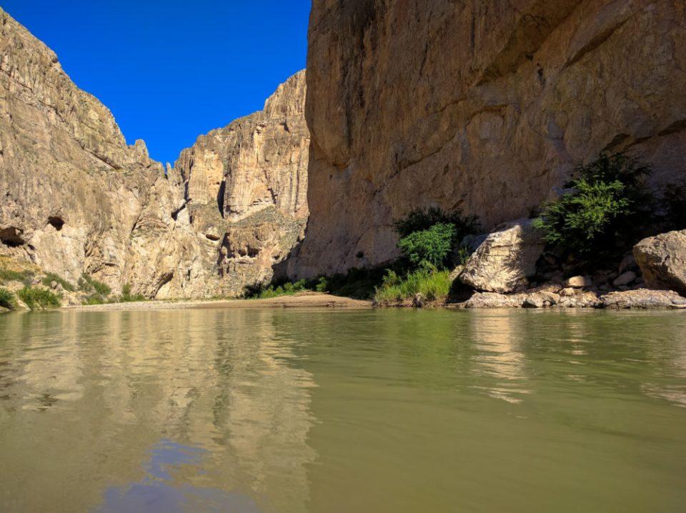 Boquillas Canyon at the Rio Grande's Edge