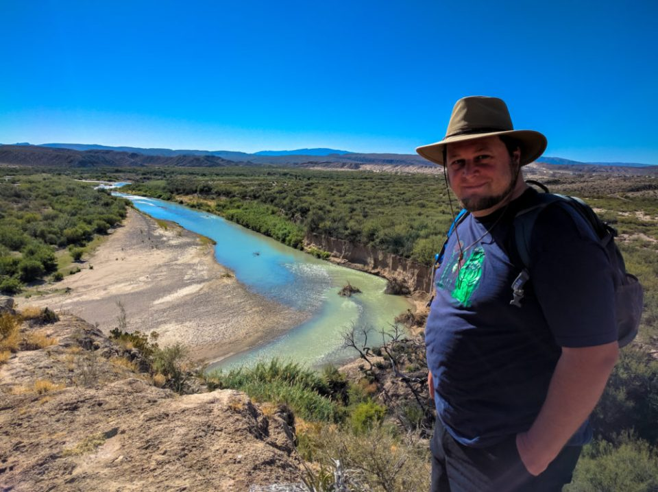 Boquillas Canyon Over Look with Hitch