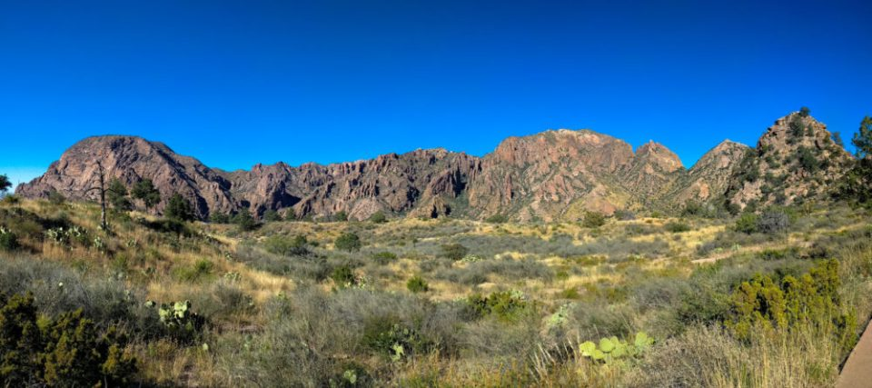 North side of the Chisos Basin