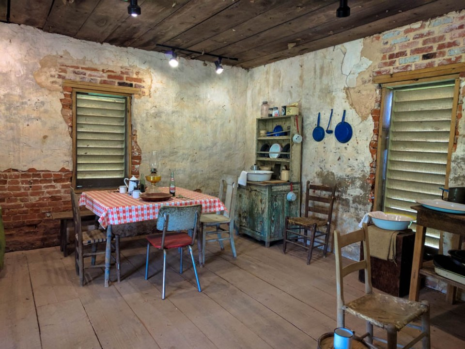 Slave Tenant Farmer Cabin