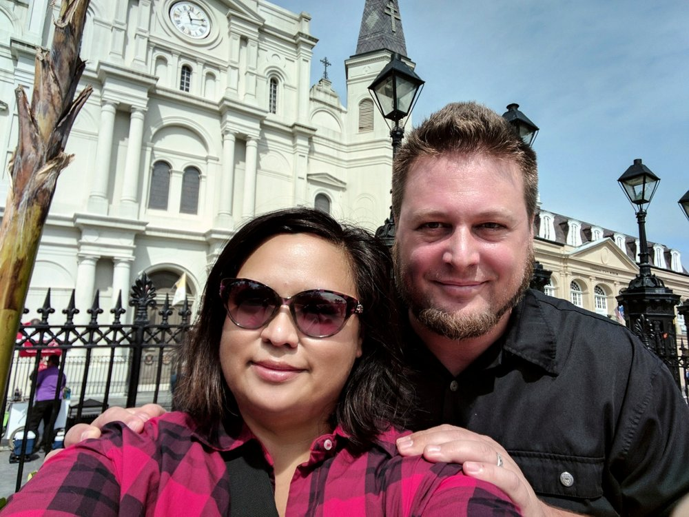 Us at New Orleans