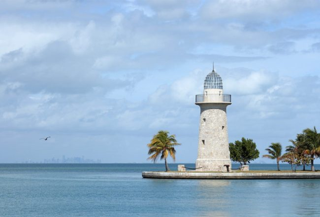 Boca Chita Lighthouse is just for show