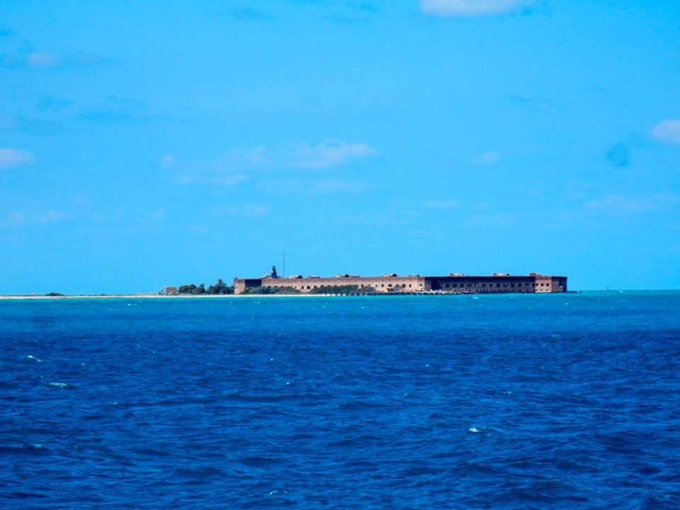 Dry Tortugas & Fort Jefferson Garden Key from a Distance