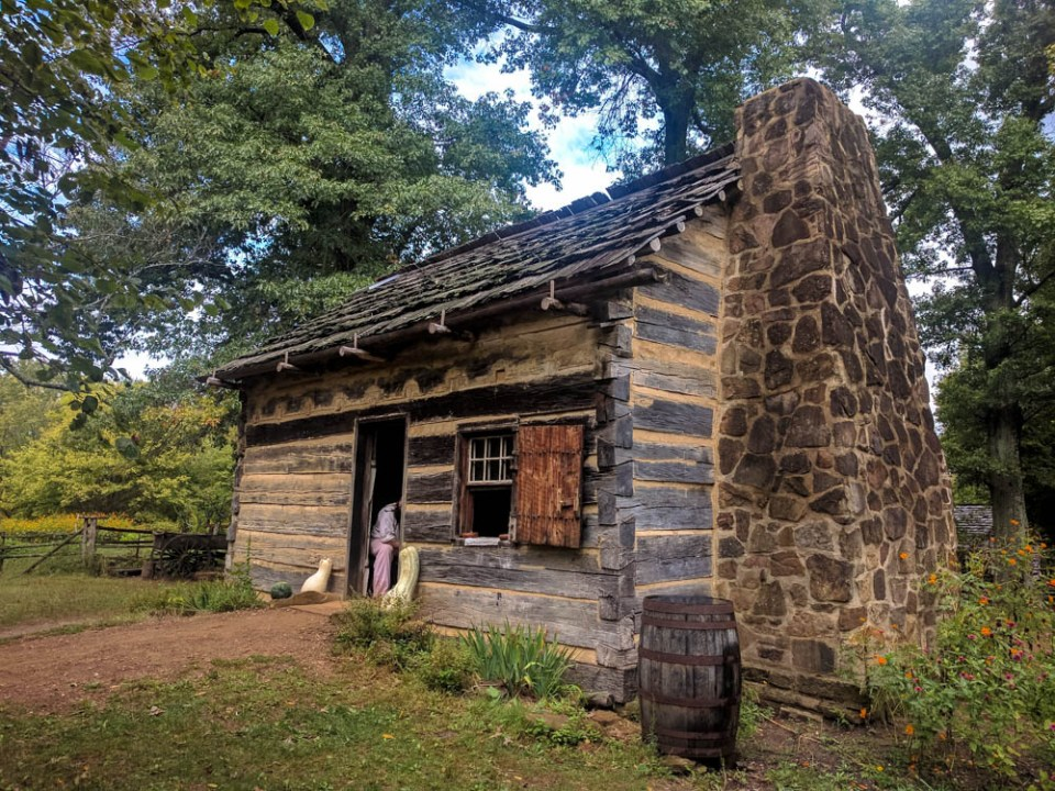 Lincoln Living History Cabin