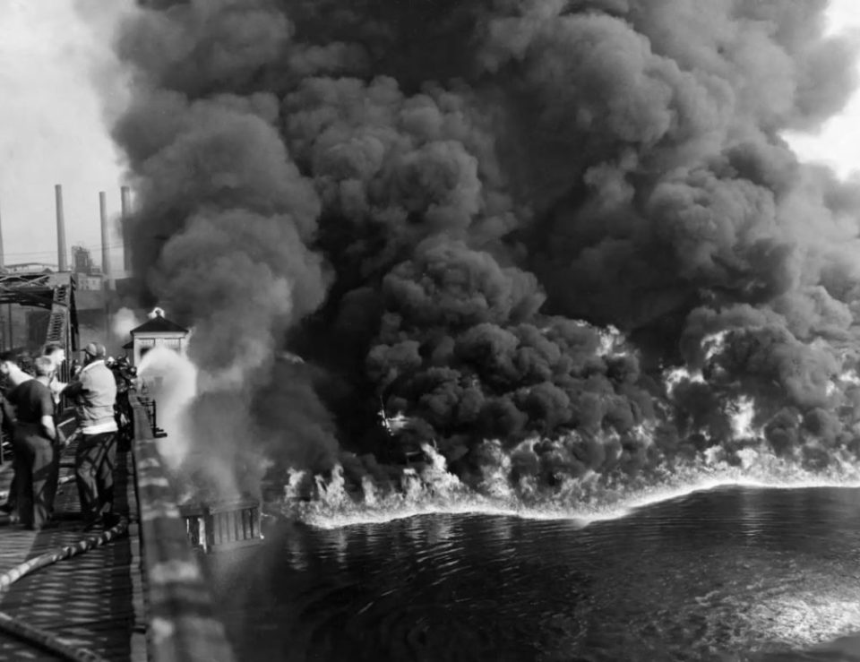 Cuyahoga River Fire 1969