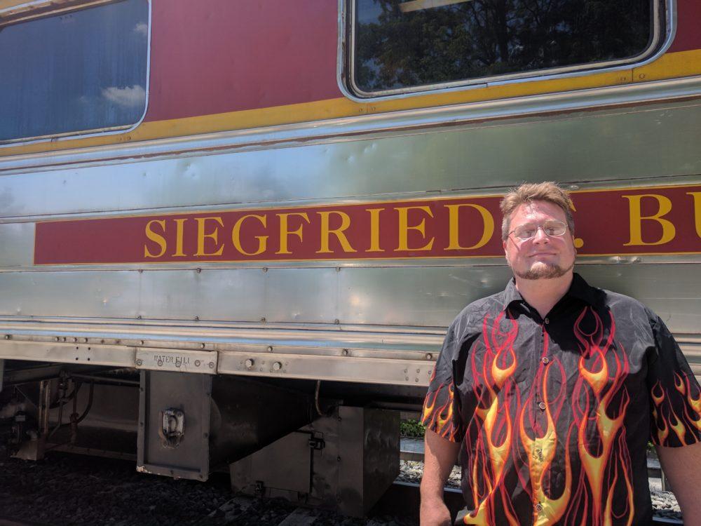 Sig on the Siegfried Car
