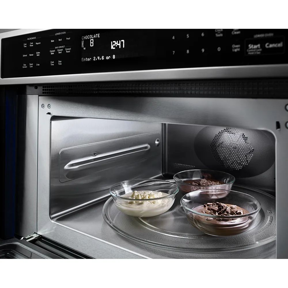 kitchenaid 30 inch double wall oven with convection