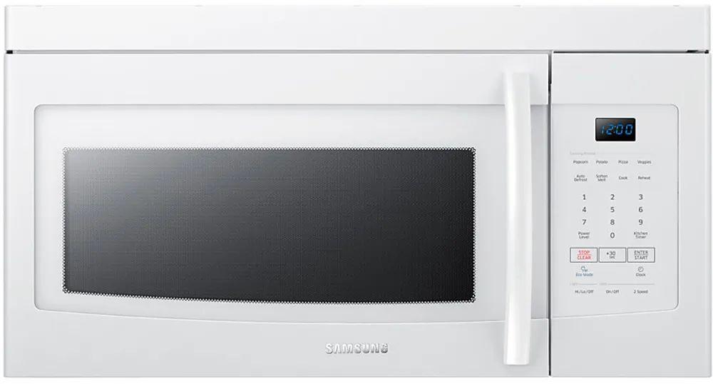 samsung 1 6 cu ft 300 cfm over the range microwave