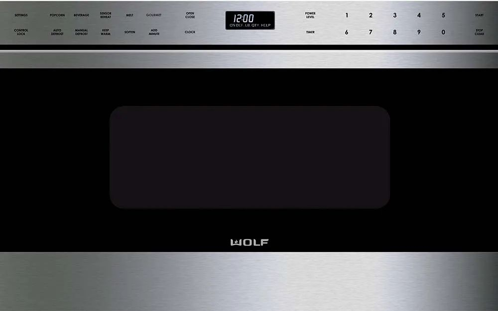 wolf 1 2 cu ft microwave drawer