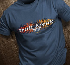 Trail Break Fire Tattoo Tee