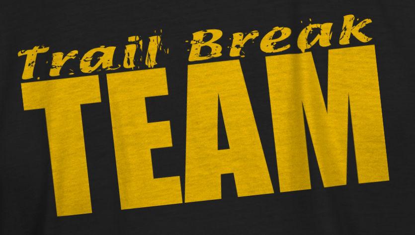 Trail Break Team shirt