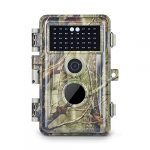 Cyanpink Game Trail Camera 16MP 1080P, Motion Activated, No Glow Night Vision, IP66 Waterproof for Outdoor Wildlife Trail, Home and Yard Security