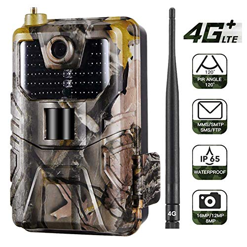 FRIDG Trail Camera 4G 16MP Hunting Trail Night Vision SMS/MMS/SMTP/FTP Waterproof Camera 1 pc