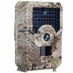 Kuool P3 Trail Camera 12MP 1080P Full HD Hunting Cam Infrared Night Vision Waterproof Wildgame Innovations Trail Camera 120° Wide Angle Game Cam Wildlife (P3 Trail CAM)