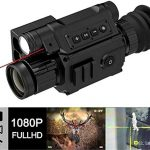 SPRIS HD Digital Day/Night Vision Scope Built-in Rangefinder 200m Viewing Distance HD Camera Monocular for Darkness Hunting with Smart Night Vision