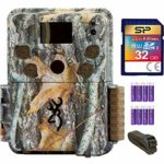 Blucoil Browning Trail Cameras BTC-5PXD Strike Force Pro XD Full HD Video Camera with 24MP Image Resolution Bundle with 6-FT Tree Strap Mount, Silicon Power 32GB Class 10 SD Card, and 8 AA Batteries