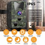 FHDCAM Trail Camera, Scouting Hunting Cam with Motion Activated, 1080P HD, Night Vision, 120° Wide Angle Lens, IP65 Waterproof Game Camera for Wildlife – New Version