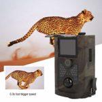 Trail Camera, Waterproof 1080P 16MP Hunting Trail Camera High Sensitivity Battery Powered Night Vision Hunting Trail Camera