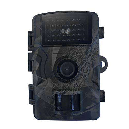 Cabilock Mini Trail Camera 12MP 1080P HD Wildlife Scouting Hunting Camera Night Vision Waterproof Outdoor Camcorder Without Battery for Watching 2 Inch (Green)