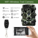 QIYI Trail Camera,20MP 1080P Wireless Hunting Camera with Night Vision Motion Activated IP65 Waterproof 2.0 LCD for Outdoor Wildlife, Garden, Animal Scouting and Home Security Surveillance