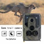 SAMTITY Mini Trail Camera 12MP 1080P Night Detection Game Camera with No Glow 940nm IR LEDs, Waterproof Night Vision Game Camera for Wildlife Detecting