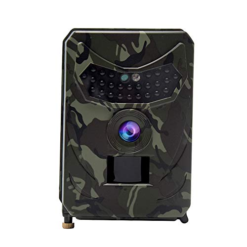 Trail Camera, Wireless Hunting Camera, IP56 Waterproof 1080P Game Scouting Cam Infrared Sensors Night Vision Forest Camera for Wildlife Monitoring