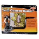 3 Pack HME Economy Trail Camera Holder – 3 Pack Easy Mount Game Camera / Trail Camera Stand – Trail Camera Accessories plus 2 Built To Last Gear Ties