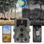 KTYX Game Camera, 16MP 1080P Hunting Wildlife Camera with 3 Infrared Sensors 42Pcs IR LEDs Night Vision 0.3S Motion Activated IP67 Waterproof 2.0″ LCD Hunting Camera