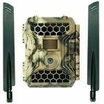 Commander 3G AT&T 1080p HD Wireless Trail Camera w/viewing screen & AT&T SIM Card | Cellular Game Camera / Security Camera | 12 MP 56 Cell Trail Camera by Snyper Hunting (Camo Commander 3G, Original)