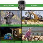 ODM Mini Trail Camera 12MP 1080P Hunting Game Motion Activated Outdoor Wildlife Scouting Camera IP65 Waterproof