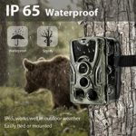 "Trail Camera-Waterproof 16MP 1080P Game Hunting Scouting Cam with 3 Infrared Sensors for Wildlife Monitoring with 120°Detecting Range Motion Activated Night Vision 2.4"" LCD 42pcs"