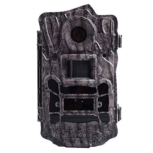 "Hunting Trail Game Camera,Scouting Camera 2"" LCD 100FT Detection Range White Flash LED Trail Cameras Support Color Picture and Video at Night (24MP)"