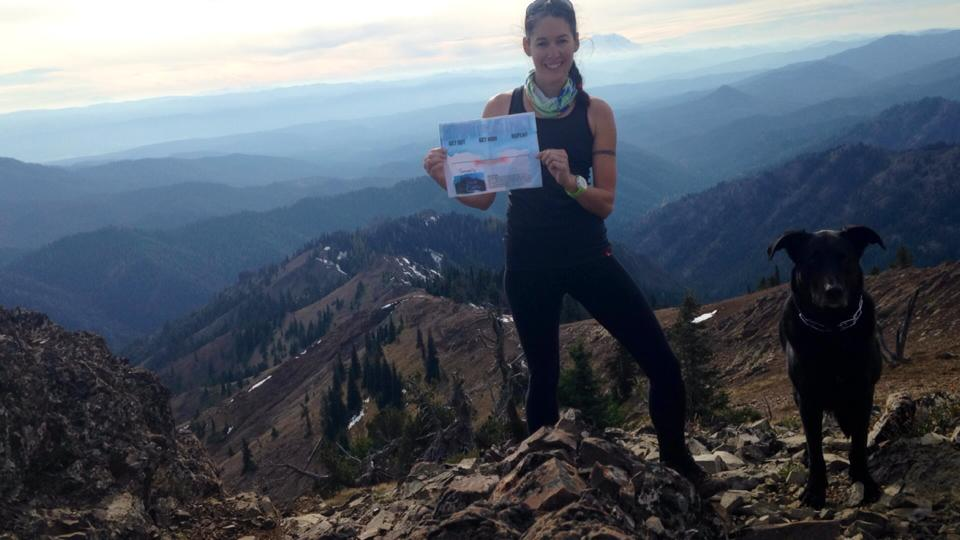 On the summit of Miller Peak in the Teanaway in 2012 with my