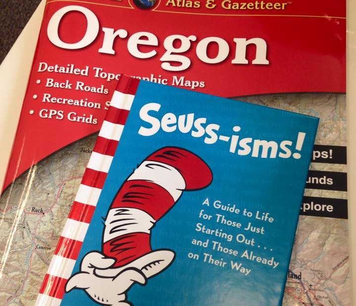 Dr. Seuss and a road map. What more do you need!?