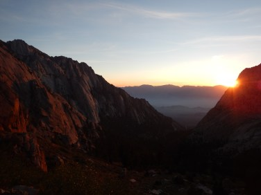 Wow! Dawn hiking at its finest!