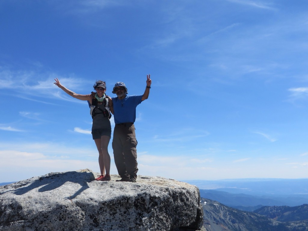 My dad and me on top of Little Annapurna in the Enchantments