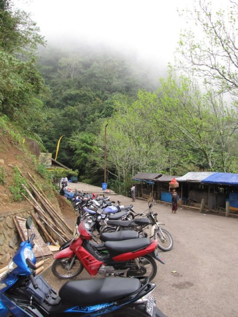 The village at the bottom of the temple