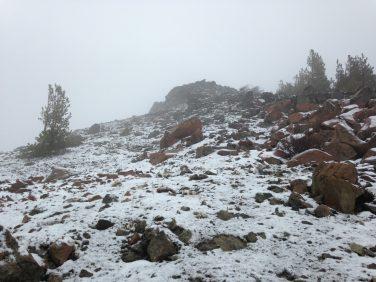 Hey, we found snow!