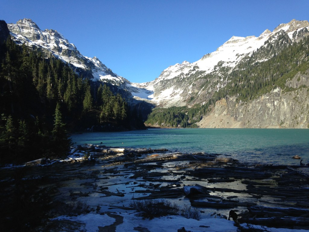Beautiful Blanca Lake in the North Cascades