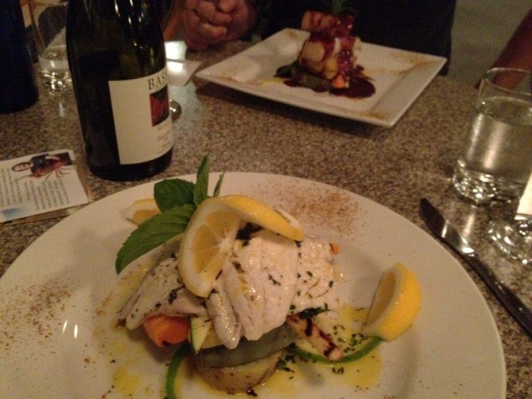 Fresh Australian salmon, delicious!