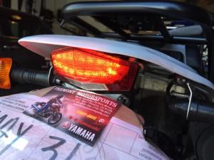 TW200 DRC tail light0923