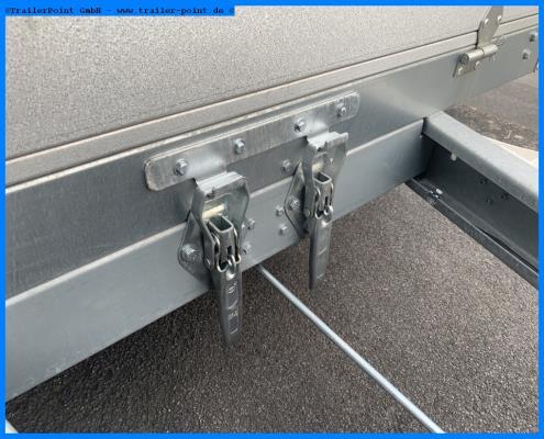 Andere - Kippanhänger 1,35 t. - 255x145x39cm - Lagerfahrzeug