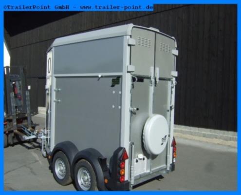Ifor Williams - HB403 Silber - Lagerfahrzeug