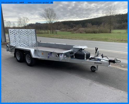 Ifor Williams - GH126 Rampe 366x184cm 3.5t. - Lagerfahrzeug