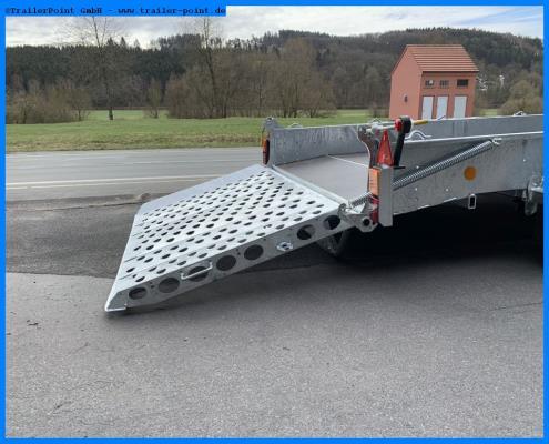 Ifor Williams - GH126 Rampe 366x184cm 3,5t. - Lagerfahrzeug